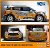Antonín Tlusťák na Bosphorus Rally s Mini
